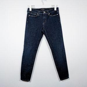 Banana Republic Dark Wash Skinny Jeans Size 27